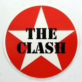 The Clash - 'Star' Round Sticker
